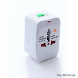 Universal Travel Adapter with Surge Protector