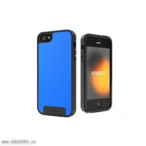 Cygnett Wake Blue Apollo Shock Absorbent Case for iPhone 5 - CY0867CPAPO