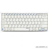 Rapoo Compact Bluetooth Keyboard for iPad/Android/Windows (Blade Series) E6100-White