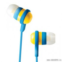 CLiPtec Rainbow Spark In-Ear Earphone Yellow BME515