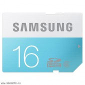 Samsung SDHC SD 16GB Class 6 Memory Card - MB-SS16D/IN