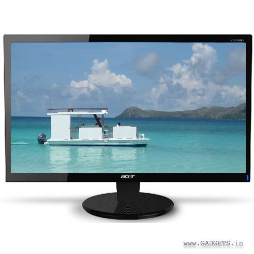 Acer 15.6 inch LED Monitor P166HQL