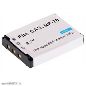 Digital Camera compatible Battery for Casio NP-70 by Digitek