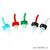 Whisky pourer with collar 12pcs