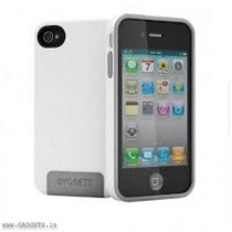 Cygnett Dual Material Case for iPhone 4/4S (White) - CY0666CPFUS