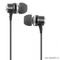 CLiPtec RHYTHM In-Ear Earphone with Mic and Volume Control Black BME878
