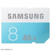Samsung SDHC SD 8GB Class 6 Memory Card - MB-SS08D/IN
