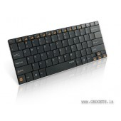 Rapoo Compact Bluetooth Keyboard for iPad/Android/Windows (Blade Series) E6100-Black