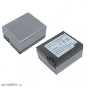 Camcorder compatible Battery for Sony NP-FF71 by Digitek