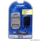 Camera compatible Battery Charger DS 007 for Samsung by Digitek