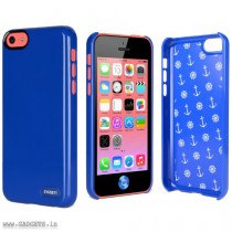 Cygnett Blue Form Hard Plastic case For iPhone 5C - CY1251CPFOR