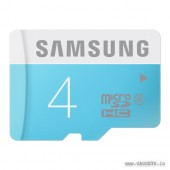 Samsung 4GB microSD Class 6 Memory Card - MB-MS04D/IN