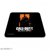 SteelSeries 67264 Call of Duty Black Ops II QcK Gaming Mouse Pad (Orange Soldier Edition)