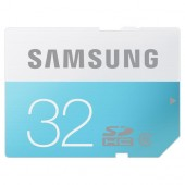 Samsung 32GB SDHC SD Class 6 Memory Card - MB-SS32D/IN