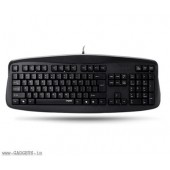 Rapoo Wired Entry Level Keyboard (Black) - N2500