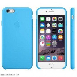 Apple iPhone 6 Plus Silicone Case Blue - MGRH2ZM/A