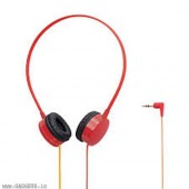 Elecom Over-the-ear Headphone (Red) - EHP-OH200RD-G