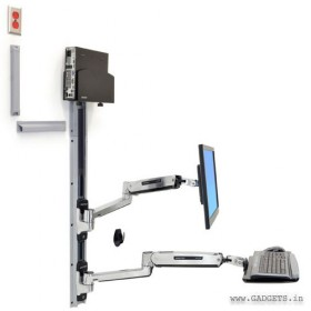 Ergotron LX Sit-Stand Wall Mount System 45-359-026