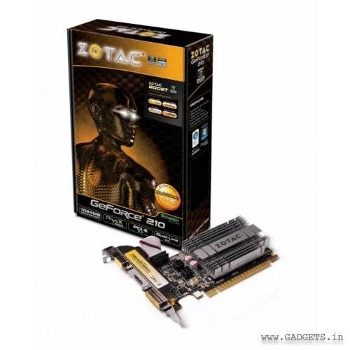 ZOTAC Nvidia GeForce GT 210 1GB DDR3 Graphic Card
