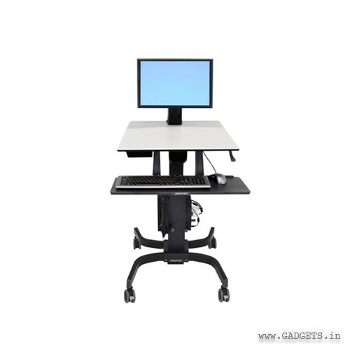 Ergotron WorkFit-C Single LD Sit-Stand Workstation 24-215-085