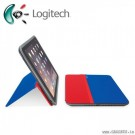 Logitech AnyAngle Protective Case with Stand for Apple iPad Red/Blue 939-001160
