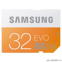 Samsung SDHC SD 32GB Class 10 Memory Card - MB-SP32D/IN