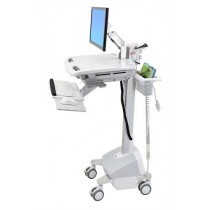 Ergotron StyleView® Cart with LCD Arm, LiFe Powered SV42-6202-3, 4 ,5