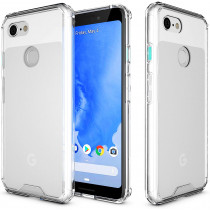 Roocase Plexis Case for Google Pixel 3a 5.6in (RC-DH-GPI3a-56-IX-CL)