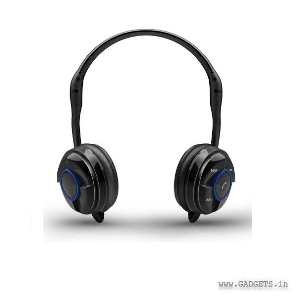 Portronics Muffs Bluetooth Headset Black POR149
