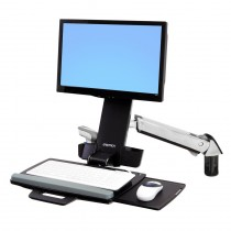 ERGOTRON StyleView Sit-Stand Combo system Polished (45-271-026)