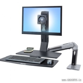 Ergotron WorkFit-A Single HD with Worksurface Plus 24-314-026