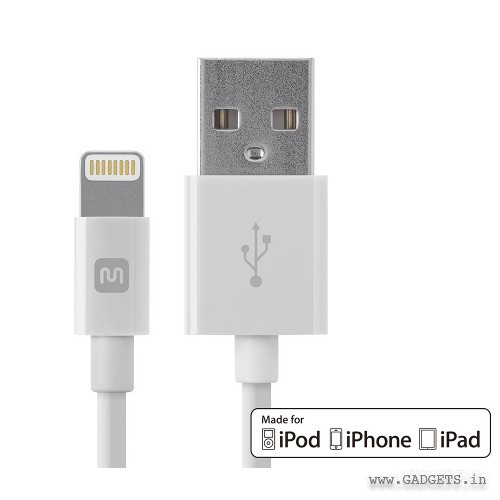 Monoprice USB A to Lightning cable 12838
