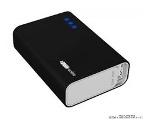 Portronics Charge One 5200 mAh Portable Charger (Black) - Por 310