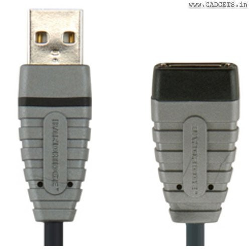 Bandridge USB A type Male to A type Female 2m cable BCL4302