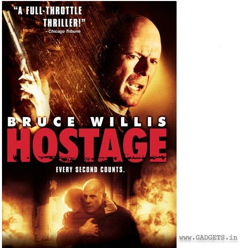Hostage Movie DVD