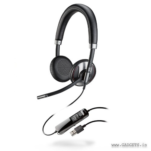 Plantronics Blackwire 725-M Corded USB Headset with Active Noise Canceling