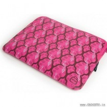 MelissaBeth Pretty Printed Laptop Sleeve 15.4 (Pink) - 070-P15