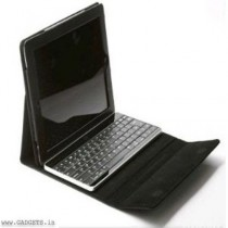 Neopack Leather Case with Detachable ABS keyboard For iPad 2, iPad 3 (Brown) - 7PAD3