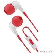 Cygnett 2XS Wired Earphone with Mic White Red CY1721HEWIR