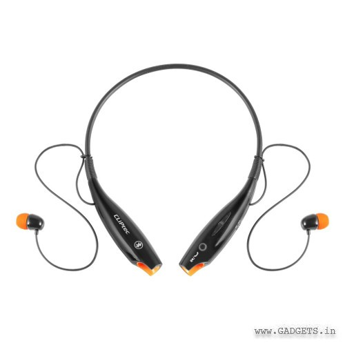 CLiPtec Bluetooth 4.0 Mobile Stereo Neckband Headset Black PBH320