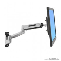 Ergotron LX Sit-Stand Wall Mount LCD Arm 45-353-026