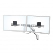 Ergotron HX Wall Dual Monitor Arm, White 45-479-216