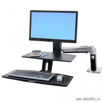 Ergotron WorkFit-A with Suspended Keyboard Single HD 24-391-026