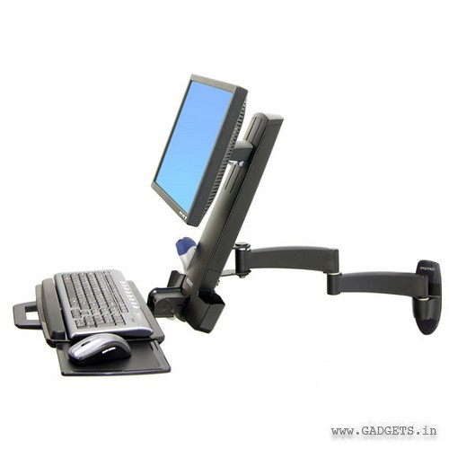 Ergotron 200 Series Combo Arm Black 45-230-200