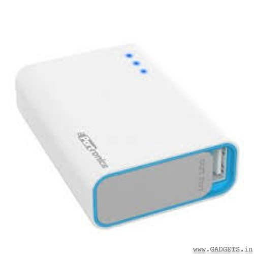 Portronics Charge One 5200 mAh Portable Charger (White) - POR 311