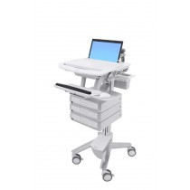 StyleView Laptop Cart, 3 Drawers SV43-1130