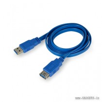 CLiPtec Slim Flat USB 3.0 Extension Cable 1.5m OCC121 Blue