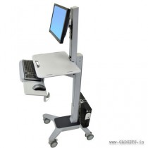 ERGOTRON WorkFit-C Single LD Sit-Stand Workstation (24-198-055)