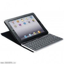 Neopack Leather Case with Detachable ABS keyboard For iPad 2, iPad 3 (Black) - 7PAD2