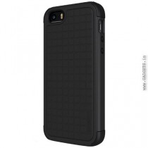 Cygnett WorkMate Evolution Protective Case for iPhone 5/5s (Black/Black/Black) - CY1425CPWOR